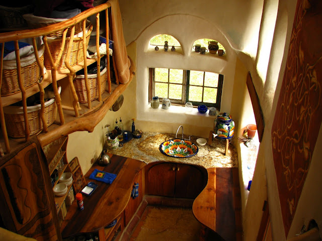 Adams picture of the laughing house kitchen