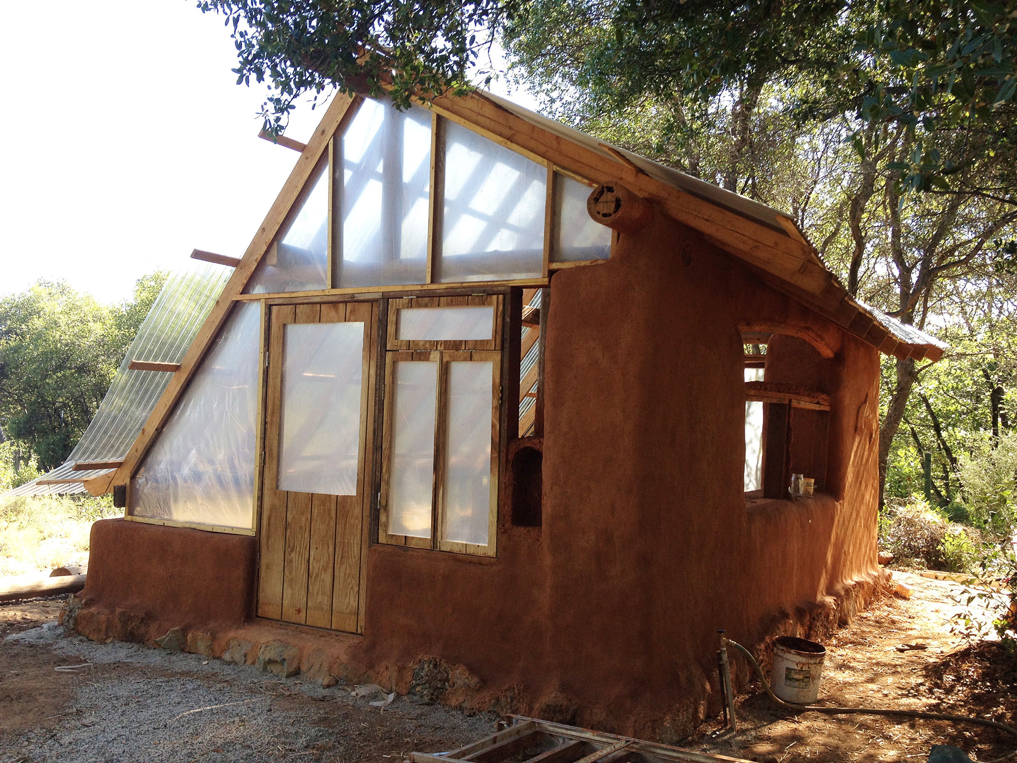 Projects natural living school House build