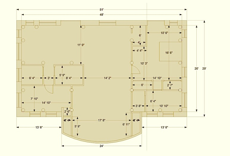 2015 Natural Building Floor Plan